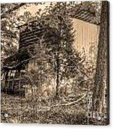 Overgrown Barn Acrylic Print