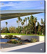 Overhang Palm Springs Tram Station Acrylic Print