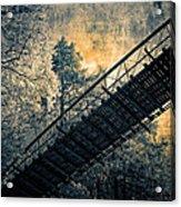Overhead Bridge Acrylic Print