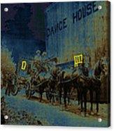 Overland Stage Raiders Homage 1938 Stagecoach 1894 Photo Acrylic Print
