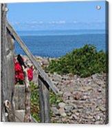 Overlooking Bay Of Fundy Acrylic Print