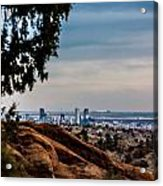 Overlooking Denver Acrylic Print