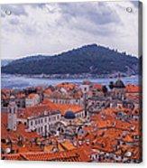 Overlooking Dubrovnik Acrylic Print