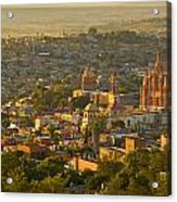 Overlooking San Miguel De Allende Acrylic Print