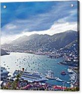 Overlooking The Bay Acrylic Print