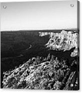 Overlooking The Canyon Acrylic Print