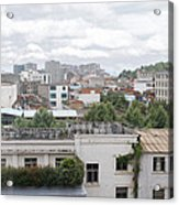 Overlooking The City Acrylic Print