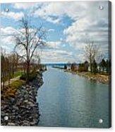 Owasco Lake Outlet Acrylic Print