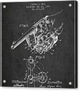 Owen Revolver Patent Drawing From 1899- Dark Acrylic Print
