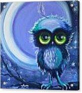 Owl Be Brave Acrylic Print