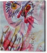 Owl In The Fresh Air Acrylic Print