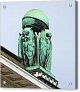 Owls Symbol Of Wisdom Acrylic Print