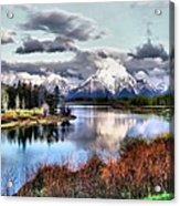 Oxbow Bend Acrylic Print by Dan Sproul