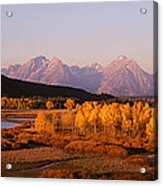 Oxbow Bend Grand Teton National Park Wy Acrylic Print