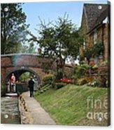 Oxford Canal Acrylic Print