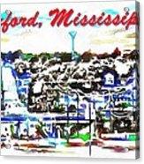 Oxford Mississippi 38655 Acrylic Print