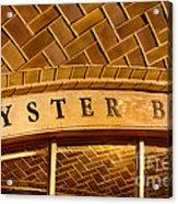 Oyster Bar Acrylic Print