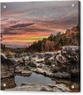 Ozark Mountain Stream Acrylic Print