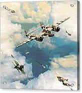 P-38 Lighting Acrylic Print