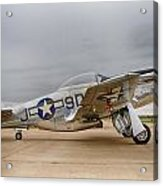 P-51 Mustang Fighter Acrylic Print