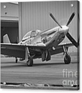 P-51d Spam Can Acrylic Print