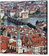 Prague - Charles Bridge Acrylic Print
