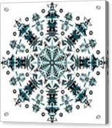 P2 Mandala Acrylic Print