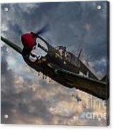P40 Warhawk Tribute Acrylic Print