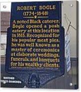 Pa-131 Robert Bogle 1774-1848 Acrylic Print