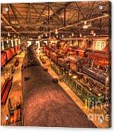 Pa Railroad Museum - 1652 Acrylic Print