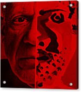 Pablo Red Acrylic Print