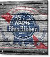 Pabst Blue Ribbon Beer Acrylic Print