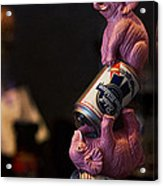 Pabst Blue Ribbon Tap Acrylic Print