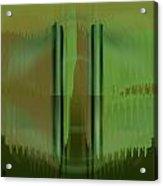 Pacan - Green Acrylic Print
