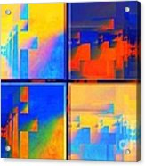 Pace---guera Acrylic Print by Halina Nechyporuk