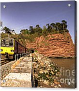 Pacer At Parson's Tunnel Acrylic Print
