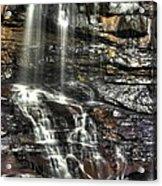Pachinko - Blackwater Falls State Park Wv Autumn Mid-morning Acrylic Print
