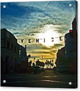Pacific Ave Acrylic Print