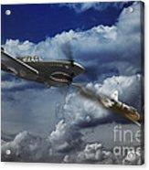 Pacific Battle Acrylic Print