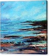 Pacific Coast Northwest Storm Acrylic Print