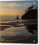 Pacific Coast Sunset Acrylic Print