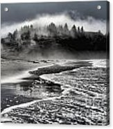 Pacific Island Fog Acrylic Print