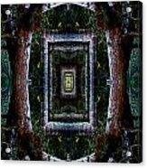 Pacific Madrone Mandala Yantra Acrylic Print