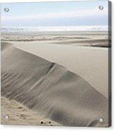 Pacific Ocean Sand Dunes Acrylic Print