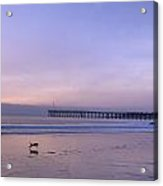 Pacific Ocean Scenic In Ventura Acrylic Print by Carol M Highsmith