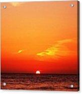 Pacific Sunset Acrylic Print