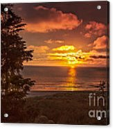 Pacific Sunset Acrylic Print by Robert Bales