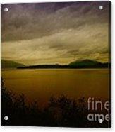 Pack Lake Acrylic Print