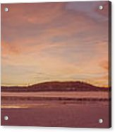 Pack River Delta Sunset  -  150125a-336 Acrylic Print