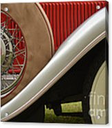 Pack Up Your Worries In A Packard Acrylic Print